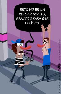 asalto copia Nuevo humorista gráfico dominicano