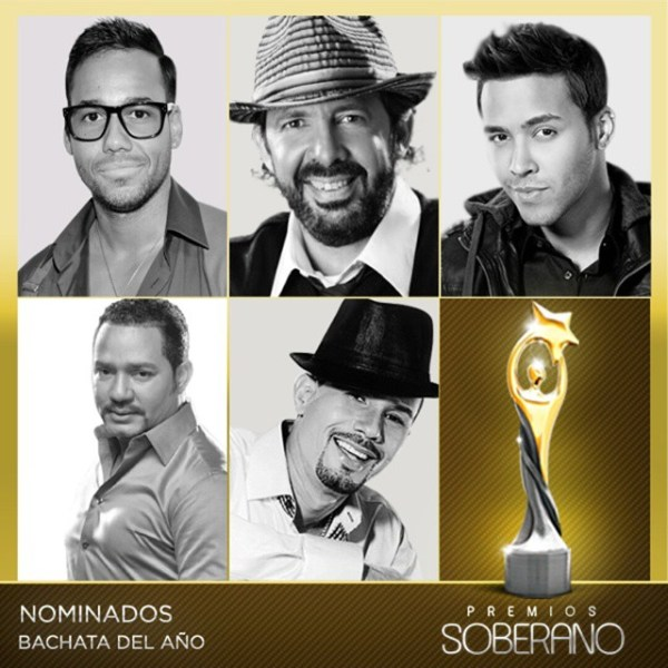 ba Nominados a Premios Soberano 2015