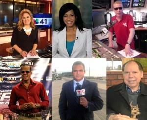 Cinco comunicadores dominicanos estrellas