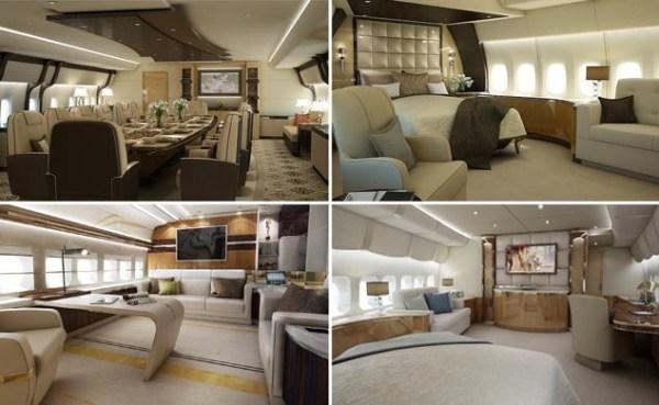 image100 Fotos: Dentro de un Boeing 747 8 VIP personalizado