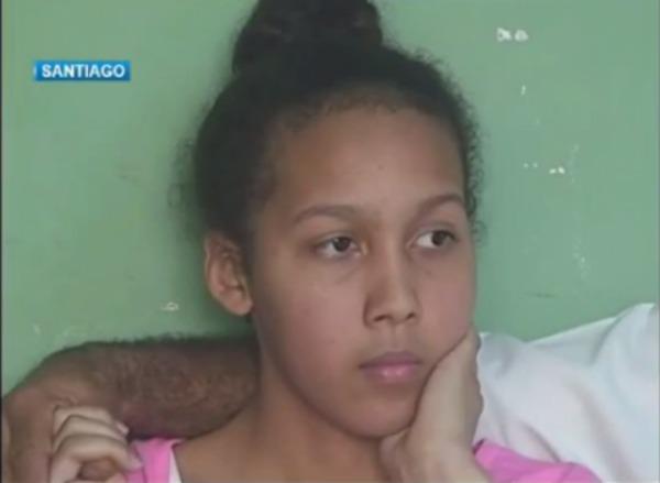 joven dominicana d