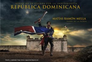 Matias Ramon Mella, arte por www.edgarwinter.net
