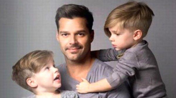 0011586226 Así le explica Ricky Martin a sus hijos sobre como nacieron