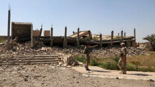 150316051853  81666955 026339493 Destruyen tumba de Sadam Hussein por los combates en Tikrit