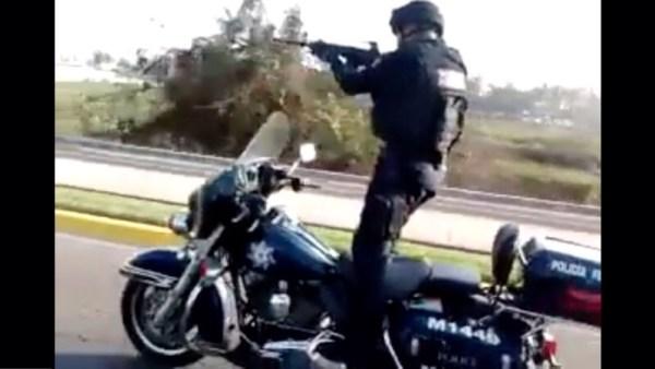 image147 Video   Policías que les jiede la vida en México