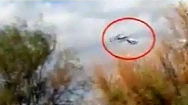 image207 Video: así chocaron en el aire los helicópteros en Argentina