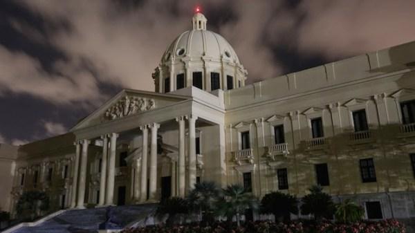 palacio nacional oscuras en solidaridad con el planeta Palacio Nacional apagó las luces en apoyo a La Hora del Planeta