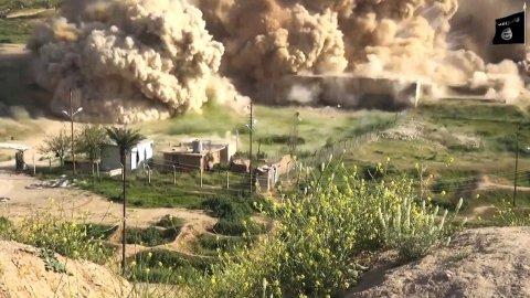 0012459404 Video: ISIS destruye nuevas piezas de la ciudad arqueológica Nimrud