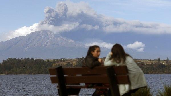 0012564638 2 Video: Nueva erupción del volcán chileno Calbuco