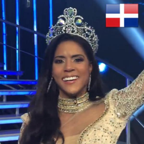 francisca Wepa! La dominicana Francisca Lachapel gana Nuestra Belleza Latina 2015