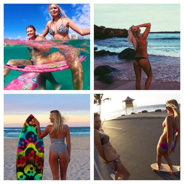 image251 Fotos   Las hermanas Coffey, surfistas fui fuiu
