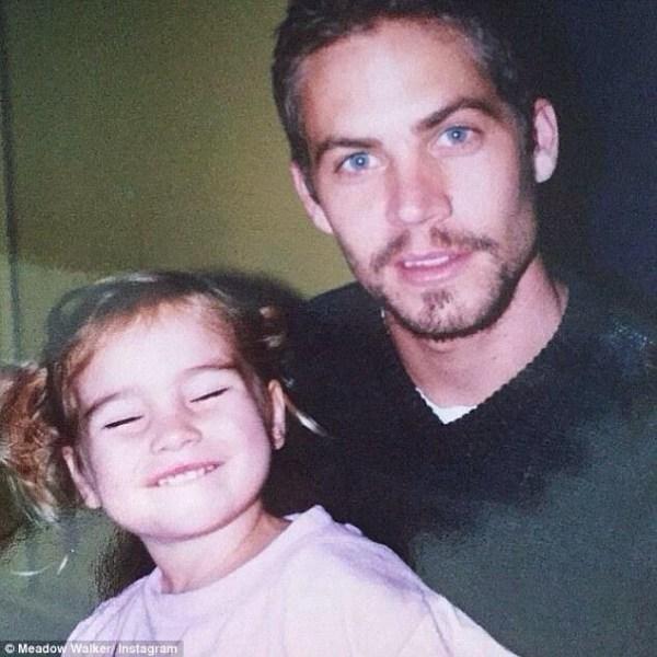 image452 Hija de Paul Walker comparte emotiva foto de su infancia junto a su padre