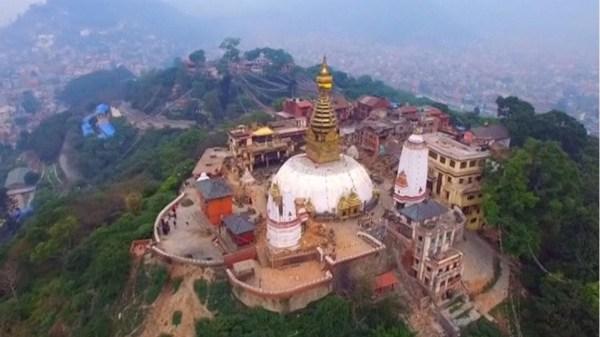 image545 Imágenes de la devastación del terremoto en Nepal vista por un drone