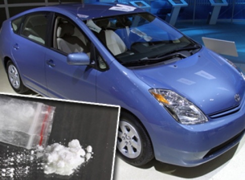 image546 Traficantes vendían cocaína en carro ecológico