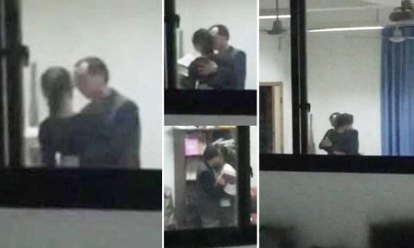 image642 Video   Profesor chino chuleando alumna en el aula