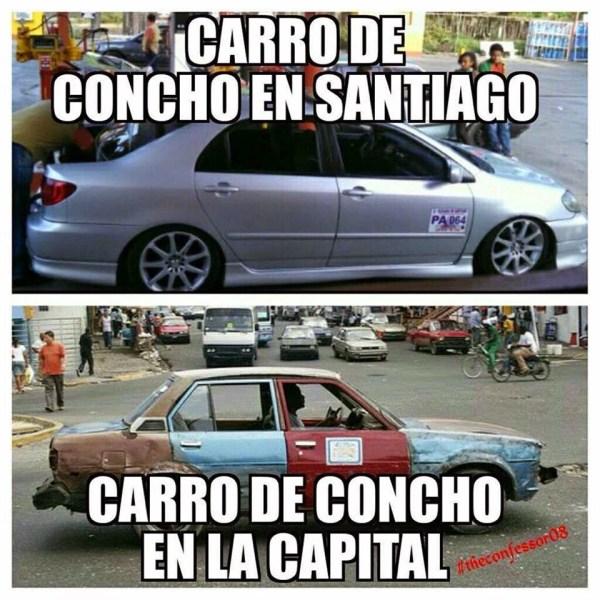 Trasnporte publico en Santiago y Santo domingo