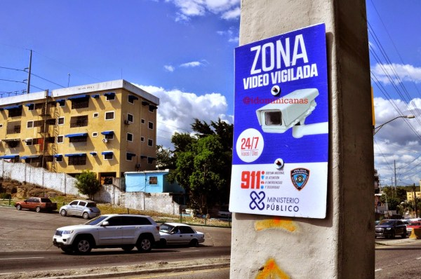 Zona Vigilada con video en Santo Domingo