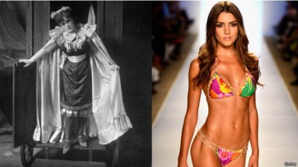 6305ft4h5 La transformación del bikini a través de los años