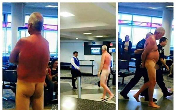 encuero Don se encuera en aeropuerto (Carolina del Norte)