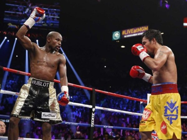 floyd mayweather pacquiao Mayweather Pacquiao rompe todos los récords