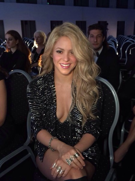 image125 Así luce Shakira después de segundo parto