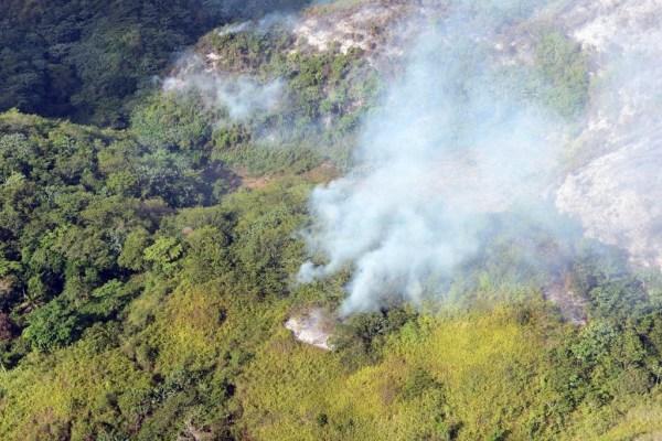 image245 Legisladores piden se investiguen fuegos forestales