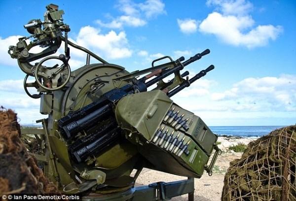 image264 Con esta arma antiaérea fusilaron ministro norcoreano