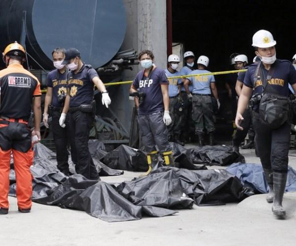 image305 Aumentan a 72 los muertos por incendio en fábrica en Filipinas