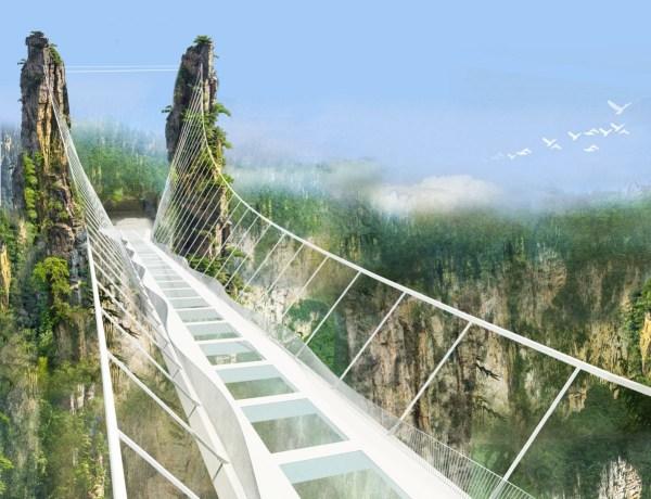 image491 El puente de cristal más largo del mundo