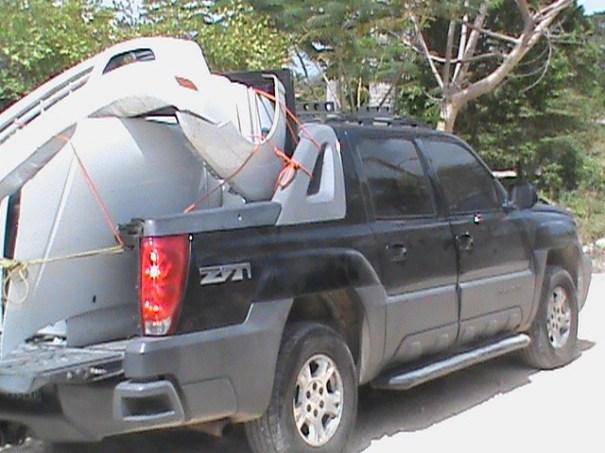img 8299 Encuentran carro desmantelado en cabaña
