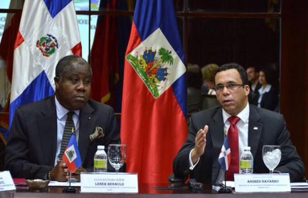 img 9160 Gobiernos dominicano y haitiano debaten agenda binacional