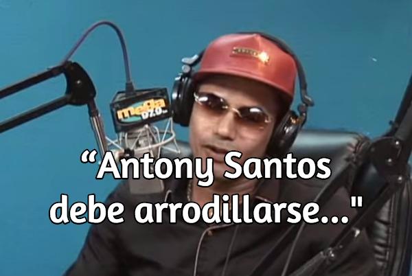 shareasimage Raulin Rodriguez: Anthony Santos debe arrodillarse... (Video)