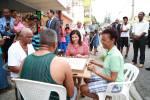 11427263 10152921430022742 1713611660485876386 o Foto: La vice Margarita jugando dominó en Gualey