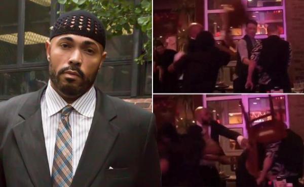 390 bbq 0616 Bajo custodia atacante de pareja gay en restaurante