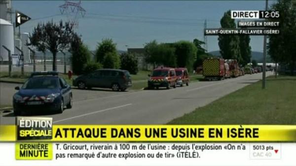 ataque Un decapitado en supuesto ataque terrorista en Francia