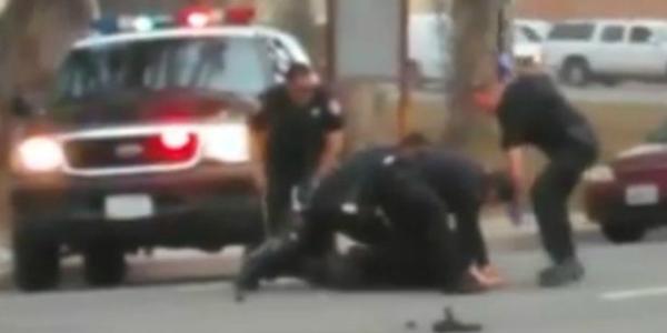 golpes policías