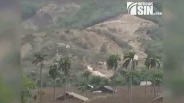 image204 Extracción de materiales provoca derrumbes en loma de Santiago