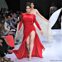 Mia Cepeda de modelo en Republica Dominicana Fashion Week. Que tal?