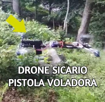 DRONE CON PISTOLA