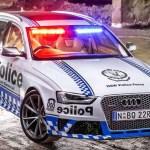 policia australia audi rs4 avant El maquinón que usará la policía en Australia