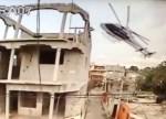 helicoptero video El instante cuando helicóptero se estrella [VIDEO]