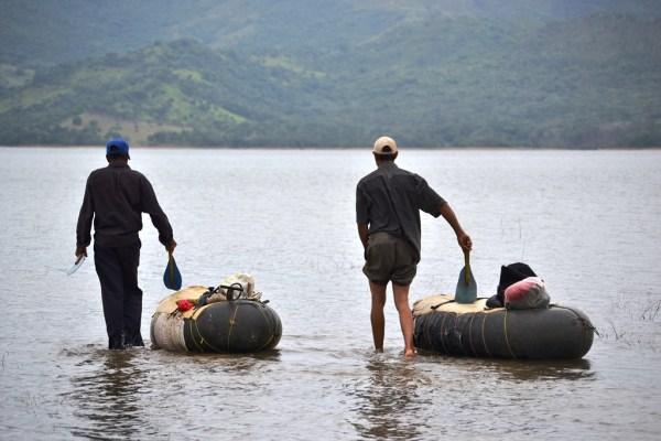 pescadores de tubos 2 Fotos   En busca de la compaña del moro