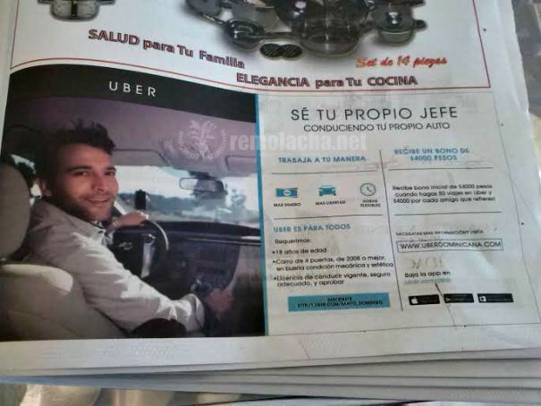 Uber dominicana 1