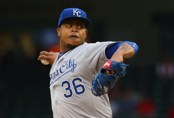 edinson volquez Pitcher criollo por desplumar a los Azulejos [MLB]
