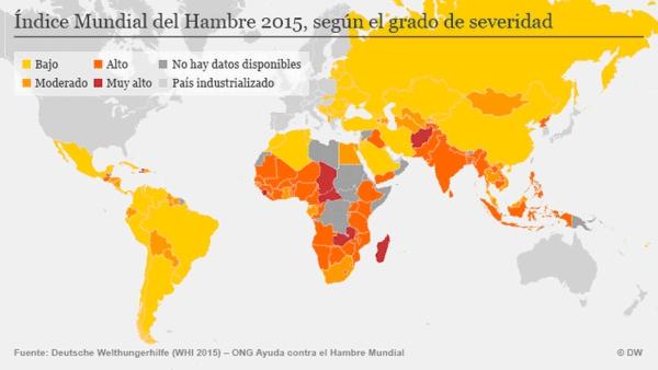el mapa mundial del hambre foto El Mapa Mundial del Hambre [FOTO]