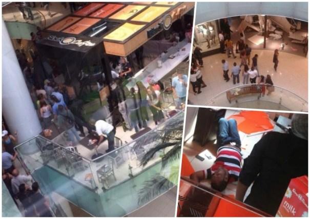 hombre cuarto piso agora mall Confirman hombre se lanzó cuarto piso de Agora Mall