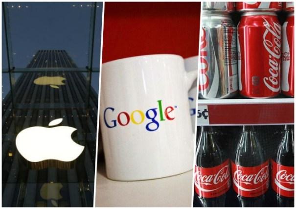 las 10 marcas mas valiosas del mundo 2 Las 10 marcas más valiosas del mundo [LISTA]