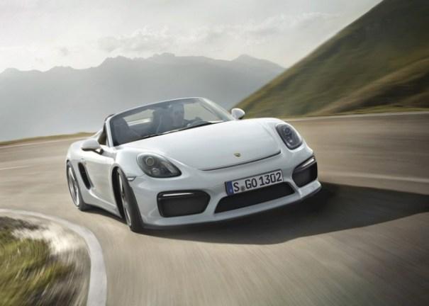 porsche boxster spyder FOTOS –El nuevo Porsche Boxster Spyder