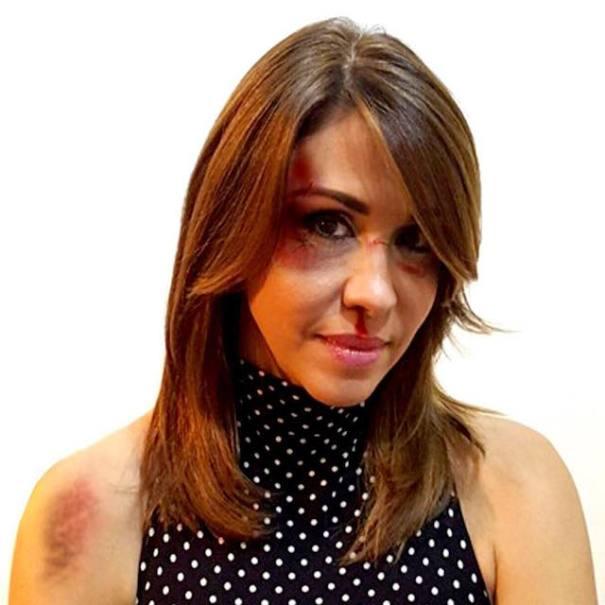 mariasela alvarez FOTOS – Ingeniosa campaña para la NO violencia contra la mujer