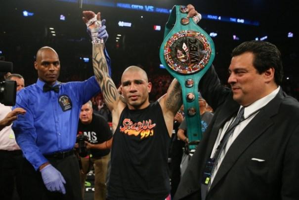 miguel cotto Retiran título campeón boxeador Miguel Cotto